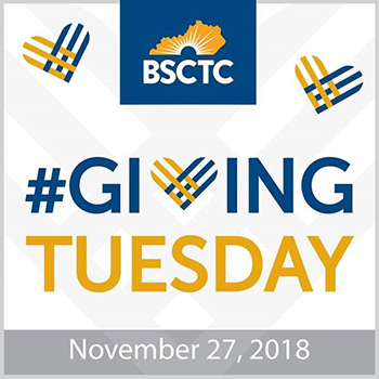 BSCTC Giving Tuesday November 27, 2018